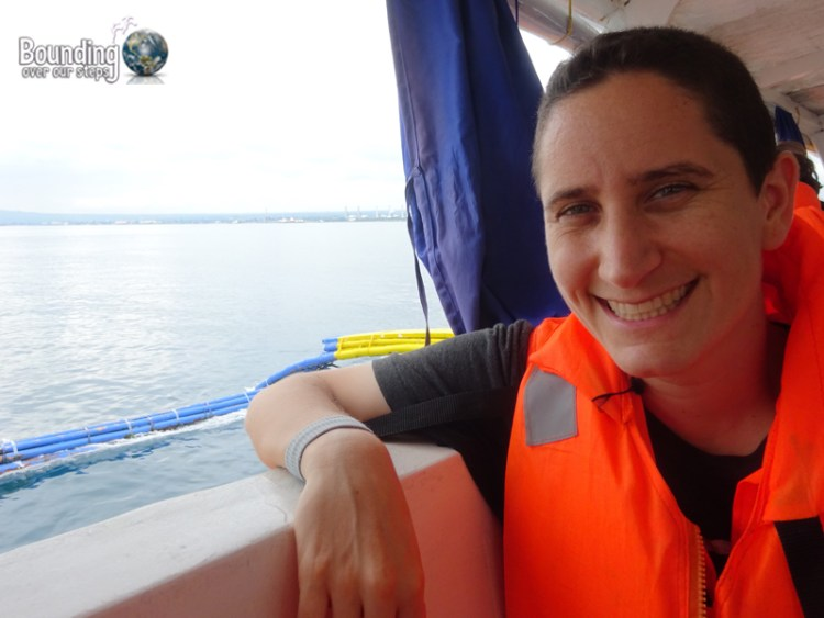 Travel from Manila to Puerto Galera - Mindy on Ferry
