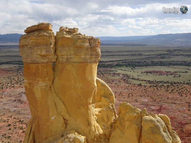Vegan in Northern New Mexico - Chimney Rock
