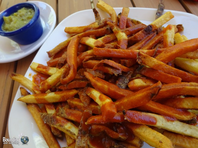 Vegan in Northern New Mexico - Christmas Fries