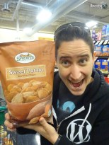 Vegan in Northern New Mexico - Sweet Potato Chips
