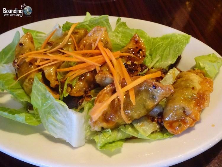 Vegan in Northern New Mexico - Vegan Thai - Dumplings