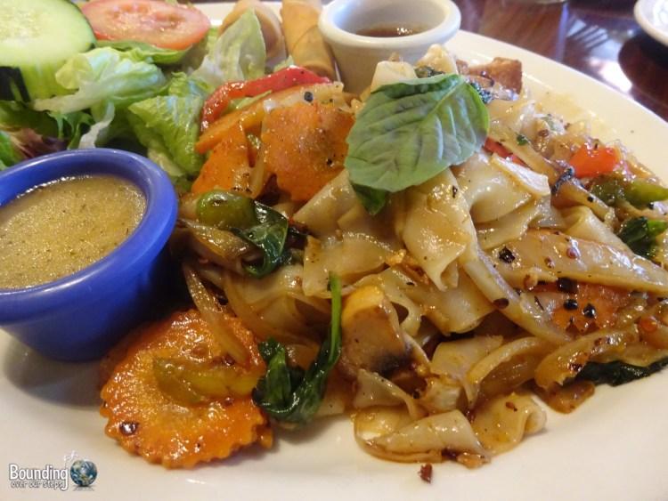 Vegan in Northern New Mexico - Vegan Thai - Spicy Noodles