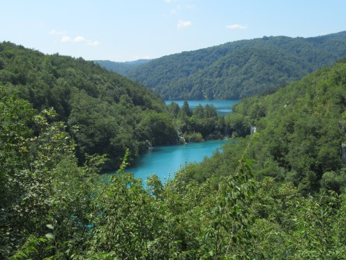 Vegan in Croatia - Plitvice Lakes National Park - Lookout