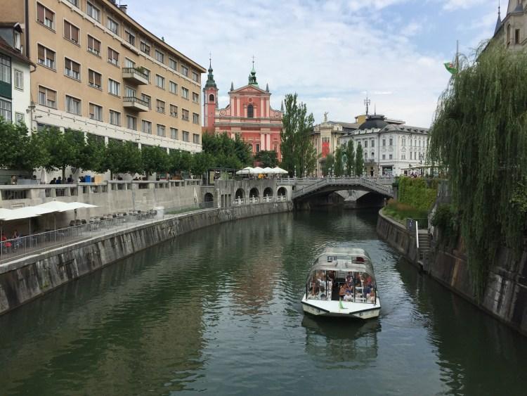 Vegan in Slovenia - Ljubljana River
