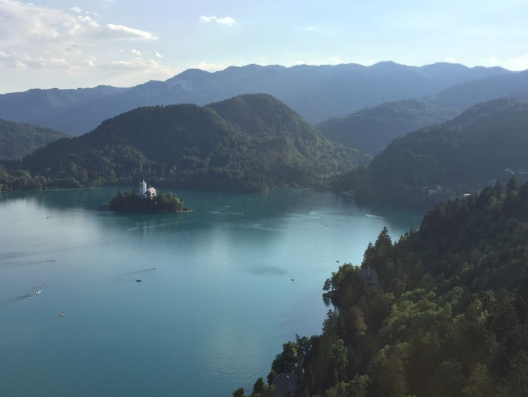 Vegan in Slovenia - Lake Bled
