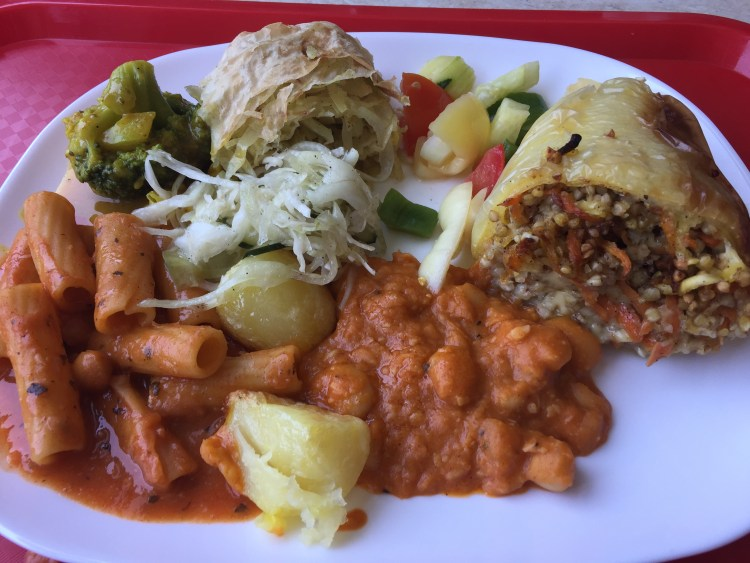 Vegan in Slovenia - Loving Hut - Plate