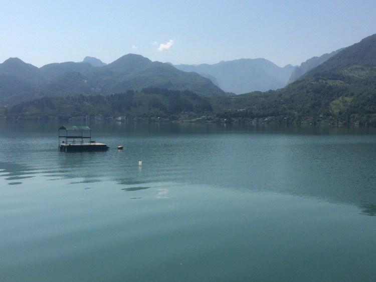 Being Vegan in Bosnia and Herzegovina - Lake Jablanicko