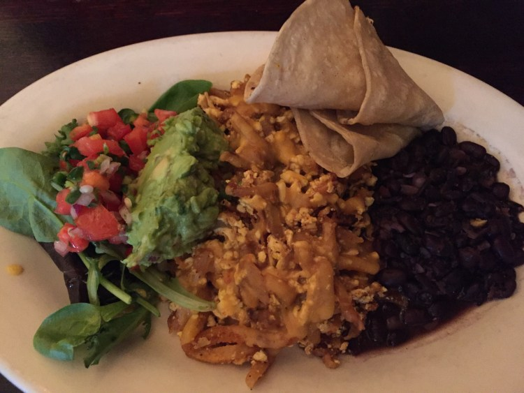 Our Vegan Weekend in NYC - Papas Diablos from The Organic Grill