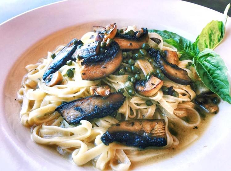 Vegan Lemon Caper Delight from Pasta Shop Ristorante