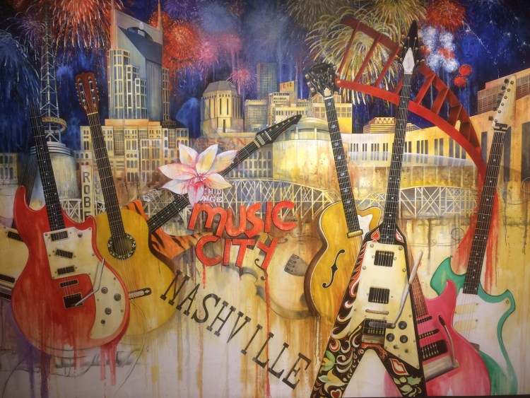 Vegan in Nashville - Mural