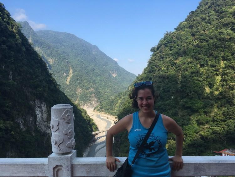 Sarina Farb in Taiwan