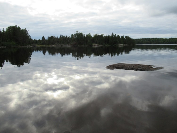 A perfect place to go skinny dipping in the Boundary Waters Canoe Area (BWCA)