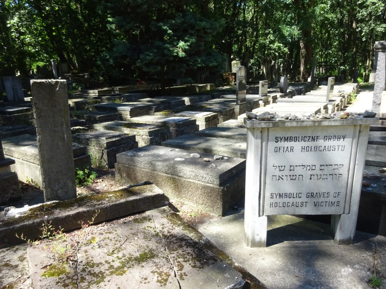 Symbolic Graves for those who died during the Holocaust