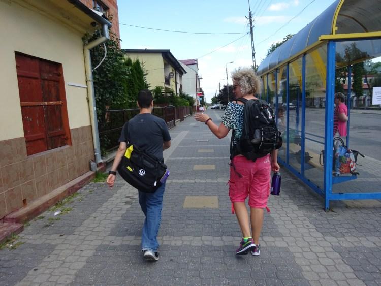 Walking in Kozienice