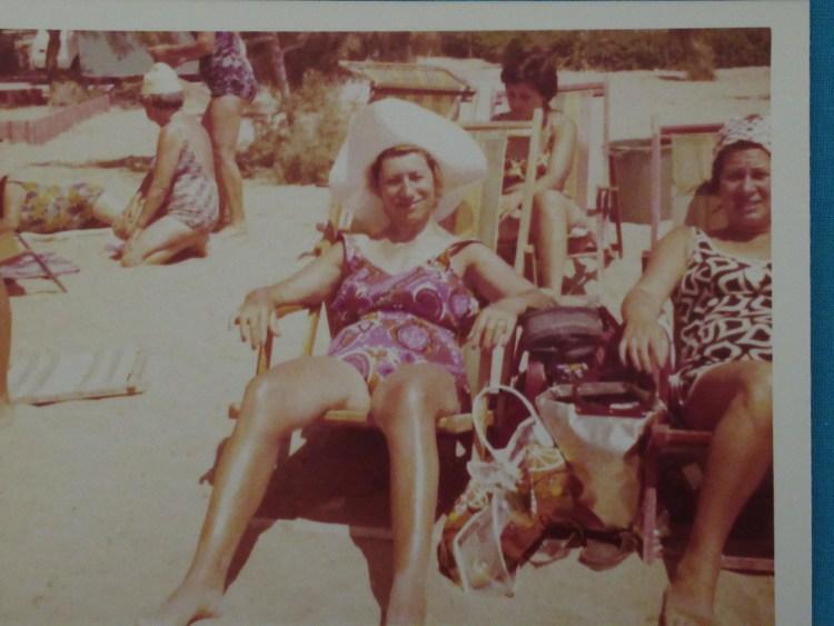 Buba and Sylvia on the Beach