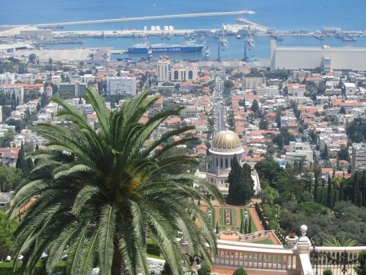 The port of Haifa