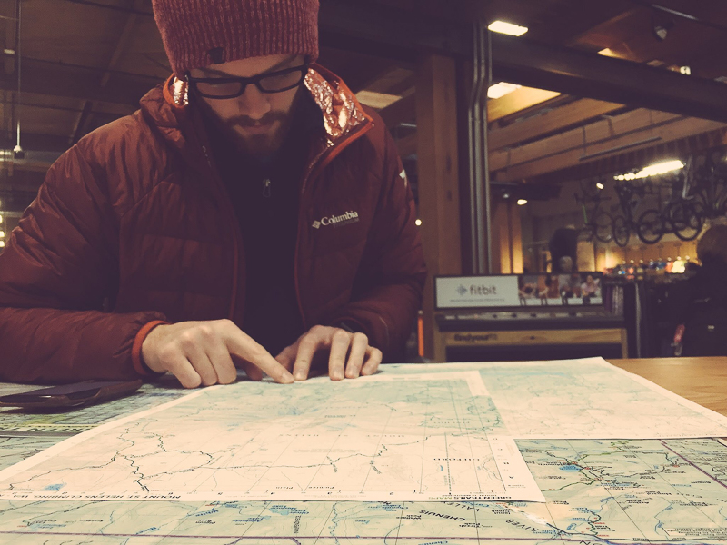 Route Planning Map REI Washington Seattle Mt. St. Helen Boundless Journey