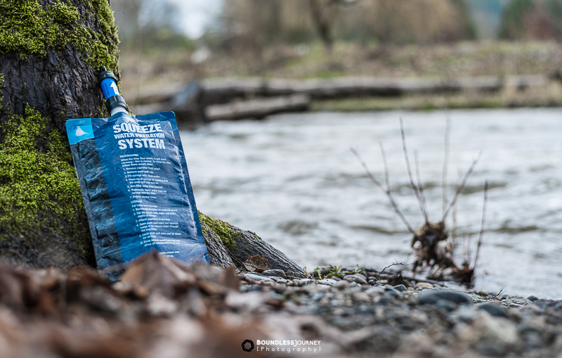 Sawyer Mini water filter. Boundless Journey