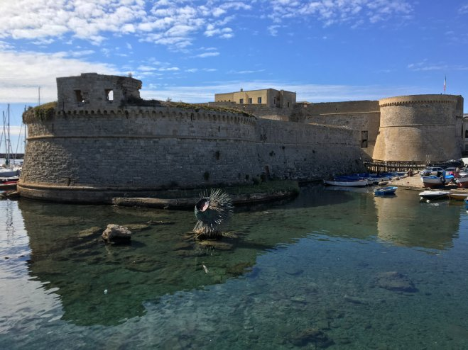 Gallipoli Castle in Puglia