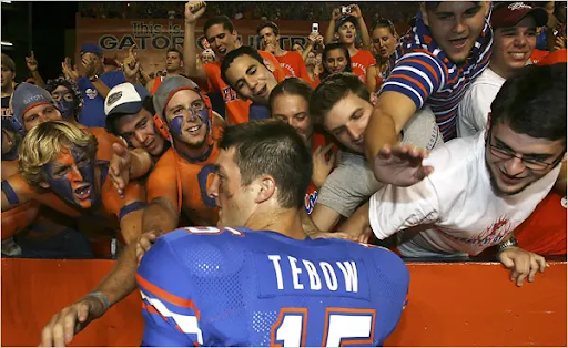 Tim Tebow at UF, college