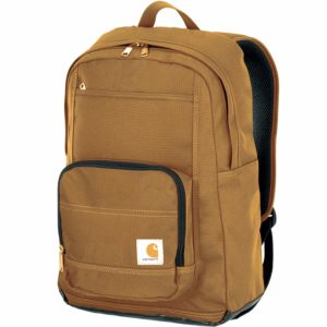 Carhatt Brown Work Backpack with Padded Laptop