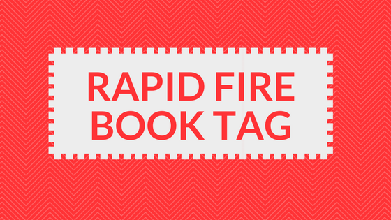 Rapid Fire Book Tag