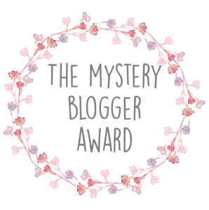 the mysterious blogger award