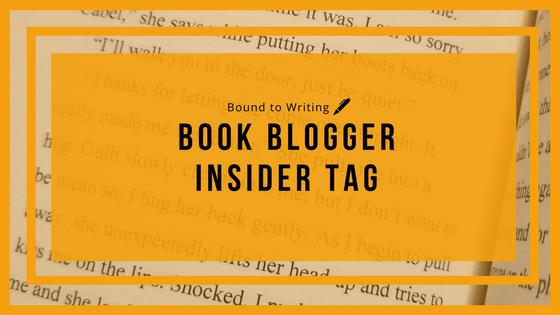 Book Blogger Insider tag