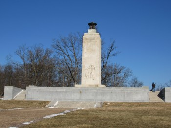 The Eternal Light Peace Memorial - Commissioned by Eisenhower