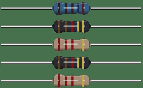 Codice colori resistenze e valore con tabella