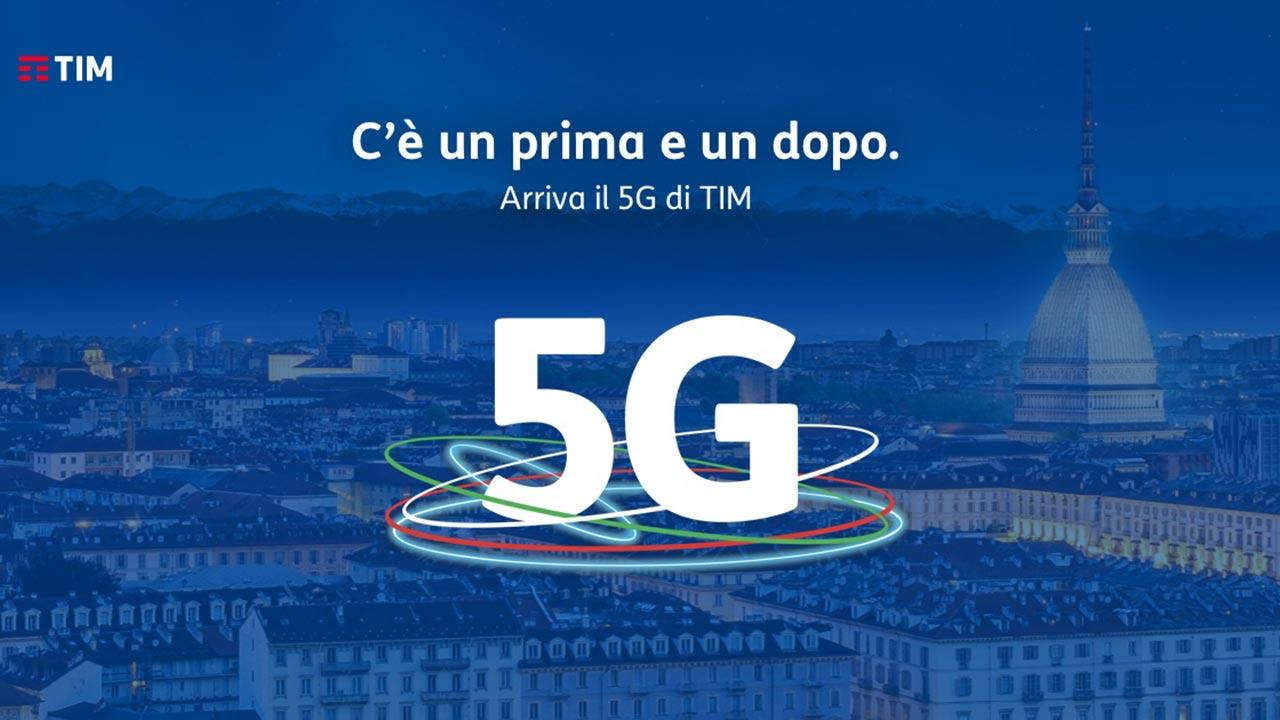 COME FUNZIONA IL 5G DI TIM