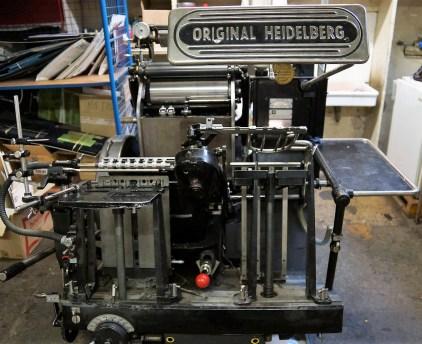 Imprimerie Bouquet Crozat - Letterpress