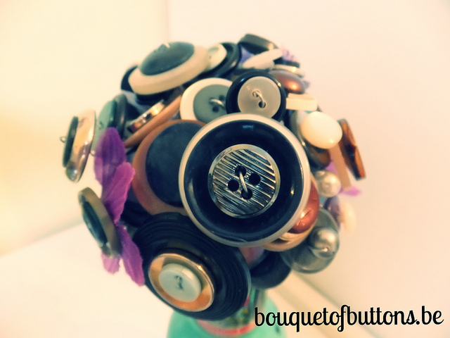 bouquet of buttons, blog