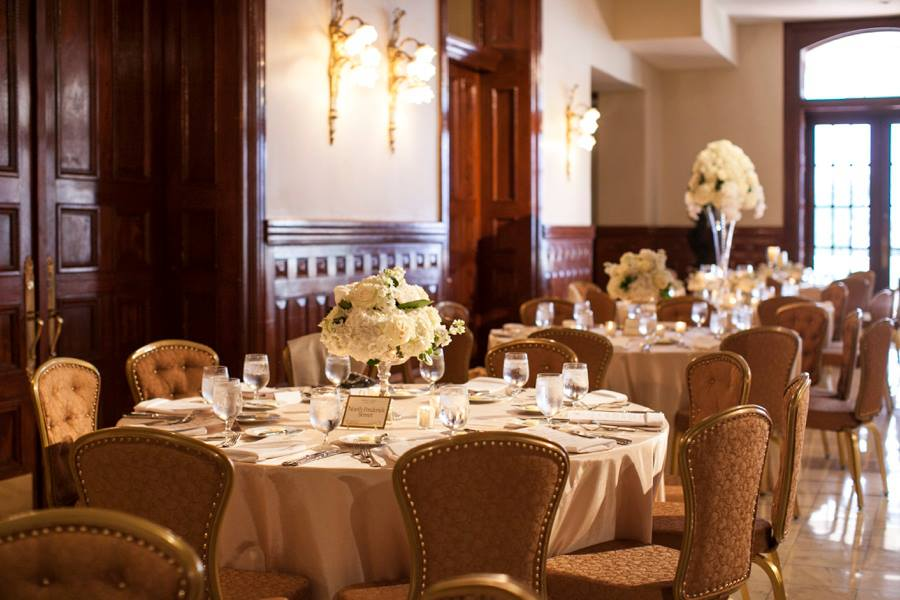 Driskill wedding reception