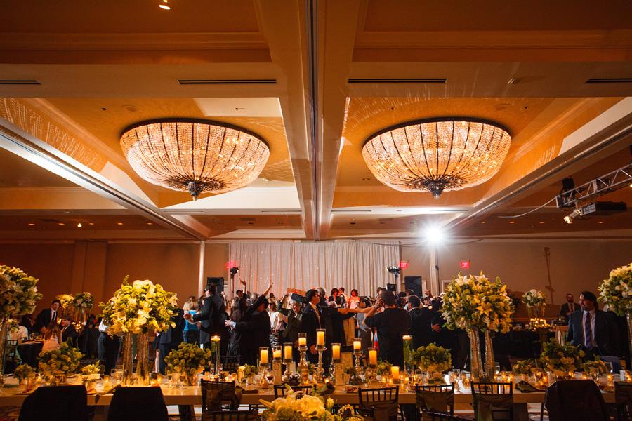 Wedding reception at The Four Seasons Austin Ballroom