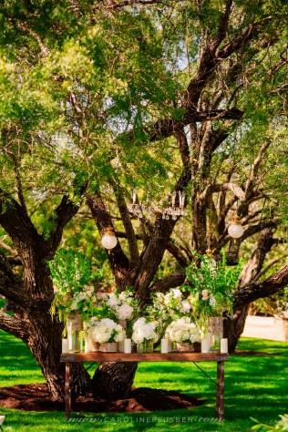 Outdoor wedding ceremony Rustic