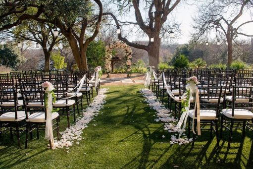 four seasons austin texas outdoor ceremony