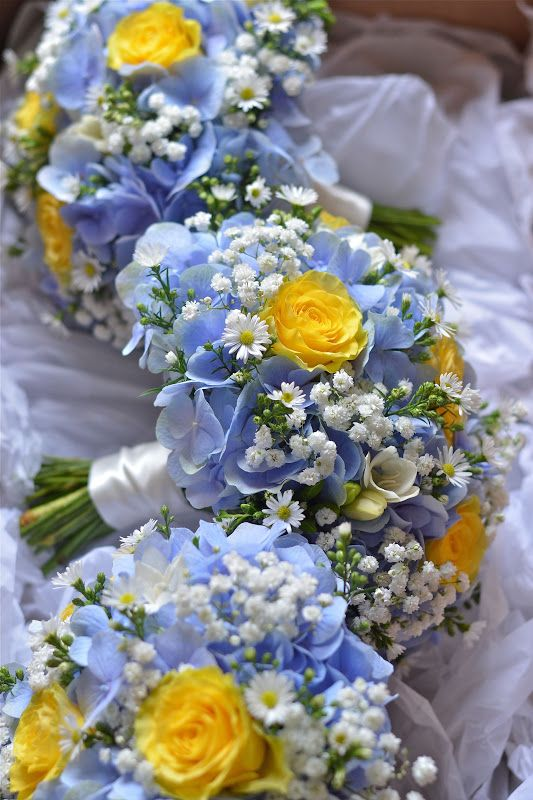 Roses Flowers Wedding Hydrangeas And