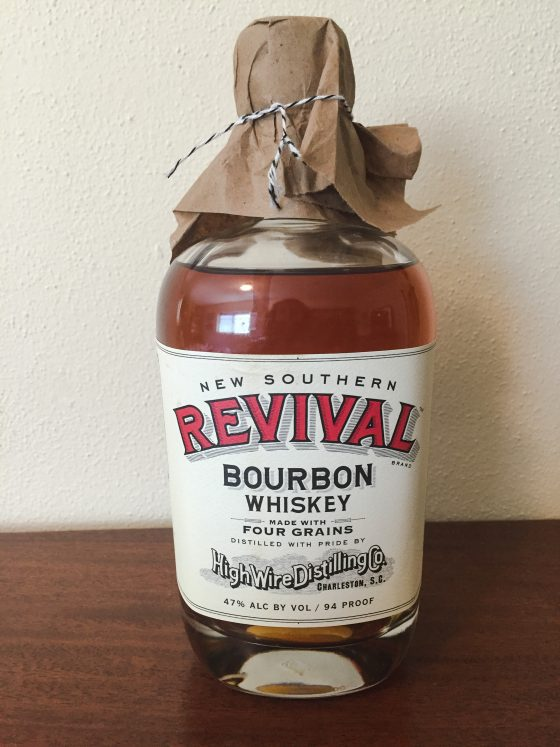 Tasted high wire new southern revival bourbon for Coopers craft bourbon review