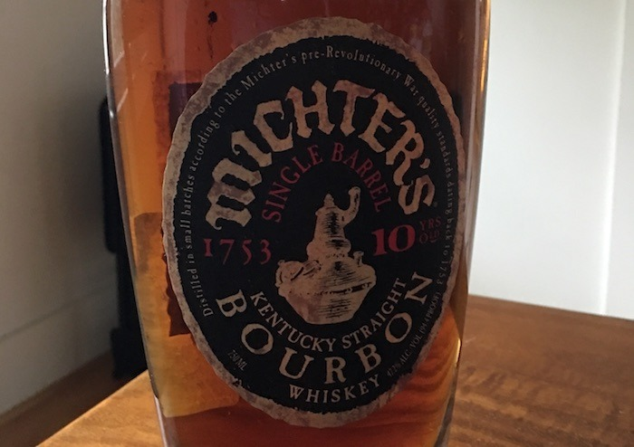 Tasted: Michter's 10 Year Single Barrel Kentucky Straight Bourbon (2017)