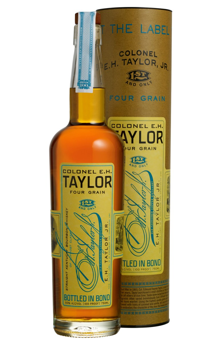 Colonel E.H Taylor Four Grain from Buffalo Trace takes 2018 World Whiskey of the Year