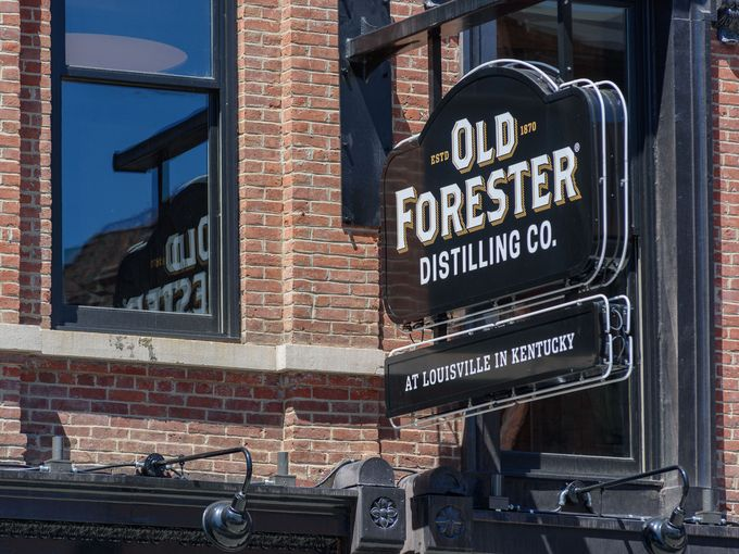 Inside Old Forester's new distillery
