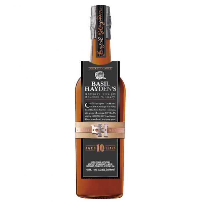 Basil Hayden's Debuts Oldest Bourbon to Date with 10-Year