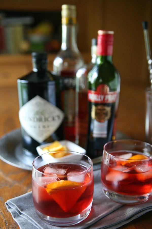 Negroni Cocktail   BourbonAndHoney.com