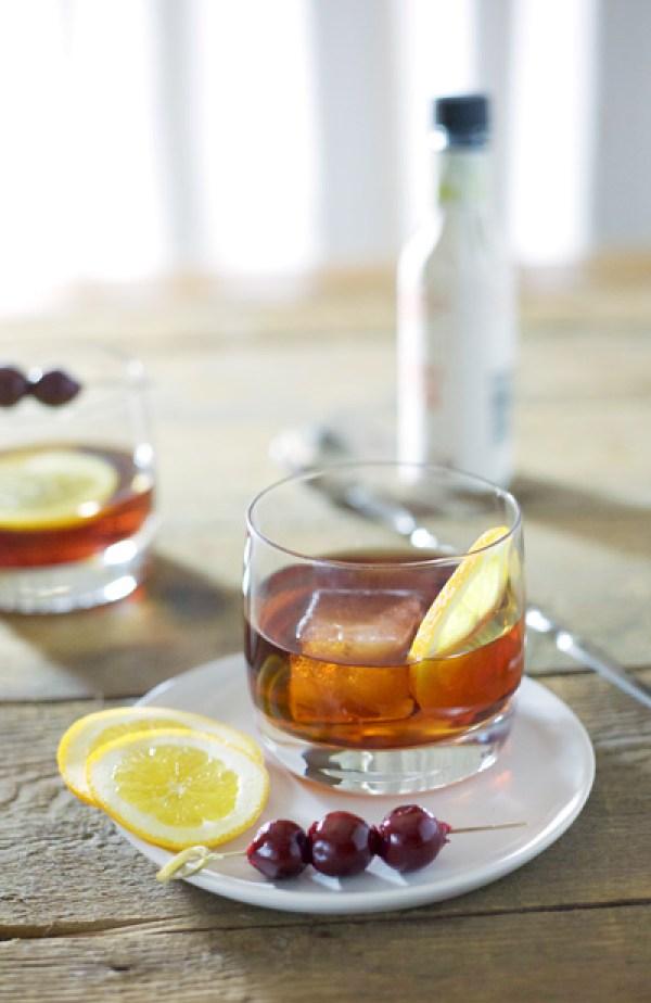 Rob Roy Cocktail   BourbonAndHoney.com