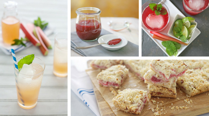 Recipe Roundup: 7 Sweet-Tart Rhubarb Recipes | BourbonAndHoney.com