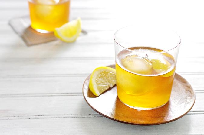 Bourbon and Honey Sazerac Cocktail