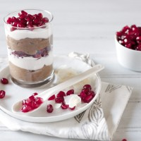 Chocolate Chia Pudding Parfait