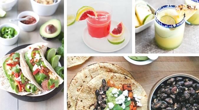Recipe Roundup: 20 Cinco de Mayo Tacos, Margaritas and Snacks