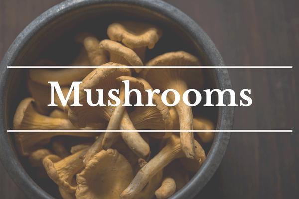 What's in Season: December - Mushrooms | BourbonandHoney.com